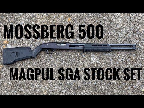 Mossberg 500 Home Defense Setup Part 1: Magpul SGA Stock Set