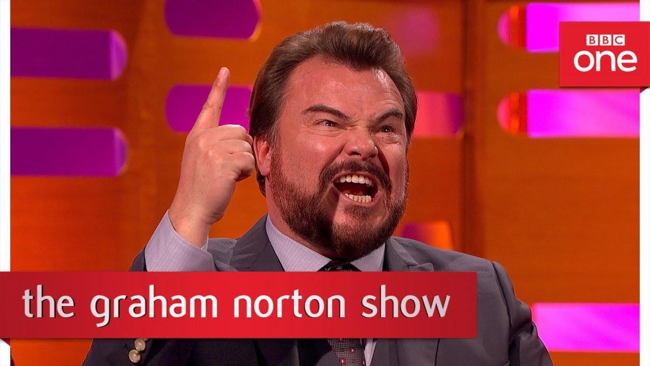 Jack Black sings his Jumanji song - The Graham Norton Show: 2017 - BBC One
