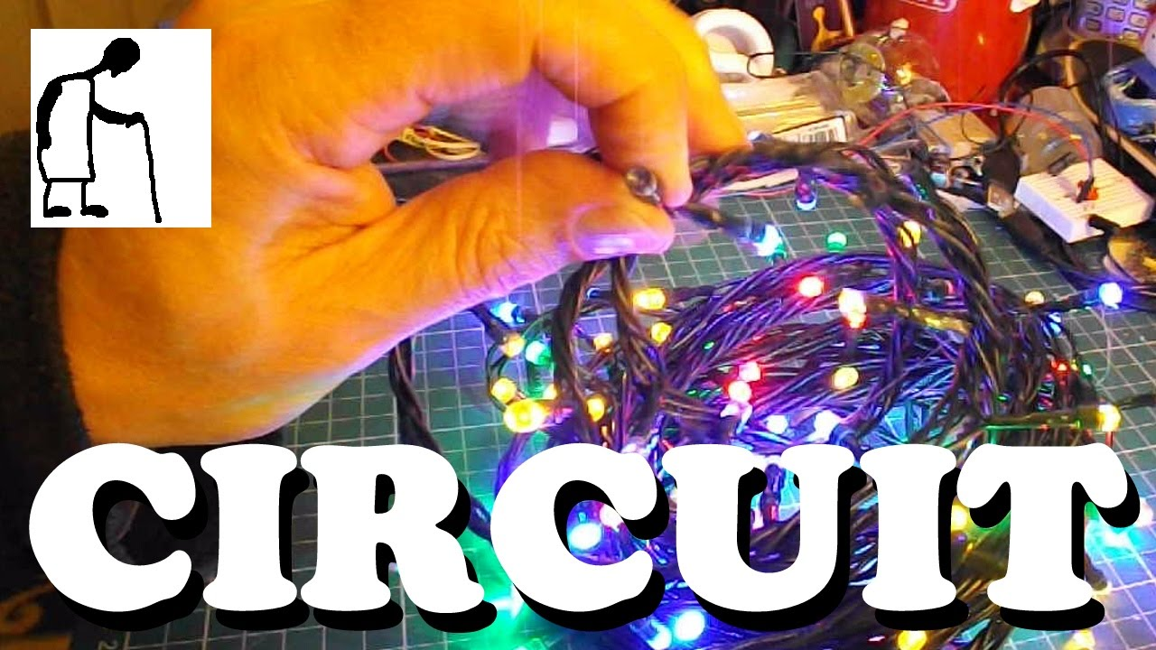 Fixing My Fairy Lights Looking At The Circuit Youtube Ac Wiring Diagram Led Christmas