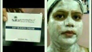How to Sara bleach without any harm on Sensitive Skin . How to do bleach . ब्लीच कैसे करें .