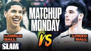 LaMelo Ball vs Lonzo Ball: Which brother will be the better PRO!? SLAM Matchup Monday 🅱️🅱️🅱️
