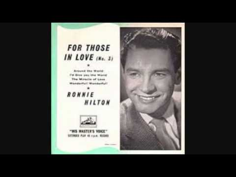 RONNIE HILTON - NO OTHER LOVE 1956