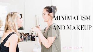 Makeup & Minimalism - How To Create Capsule Wardrobe Make Up & Beauty - Episode 3 || SugarMamma.TV