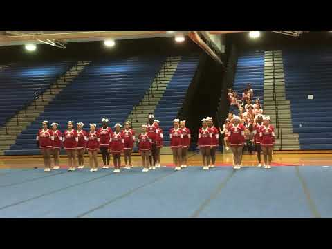 Annandale High School Varsity Cheer Districts 2019 (Semi-Final Districts)