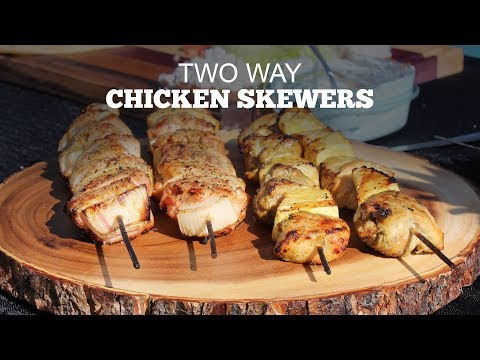 Chicken Skewers - 2 Ways | Green Mountain Pellet Grills