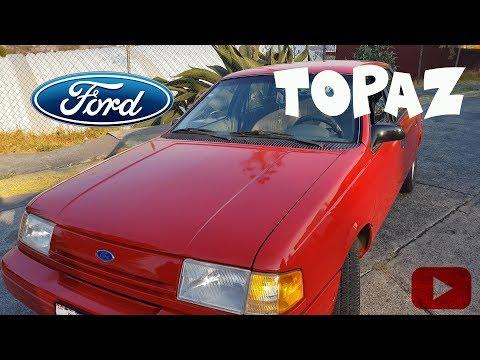 Prueba De Manejo Ford Topaz ( El Carro De La Abuela)