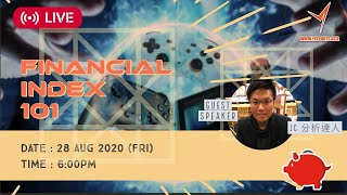 【Finance 101】S1E1 - Index (ft. JC, 分析達人) - Yesports Webinar