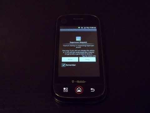 How To Root The Motorola Cliq and Install ClockworkMod Recovery!!