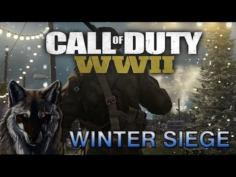 Call Of Duty WW2 WINTER SIEGE EVENT LIVE With The WOLF! NEW MAP GAME MODES GEAR WEAPONS!