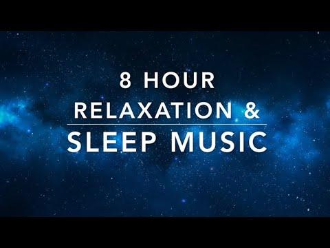 8 Hour Sleep Music | Relaxation Music | Calming Music | Stress Relief Music | Deep Meditation Music