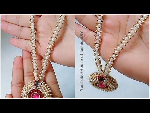 Latest Model Pearl Jewellery|| Silk thread Jewellery