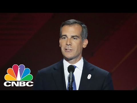 LA Mayor Eric Garcetti: Will Stand By LA's Immigration Policies | CNBC