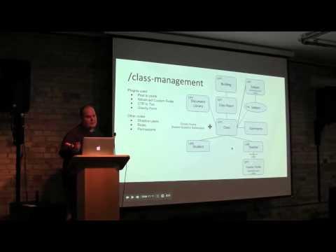 Dan Westall - Tips and tricks for using WordPress as an application platform - Feb 2014