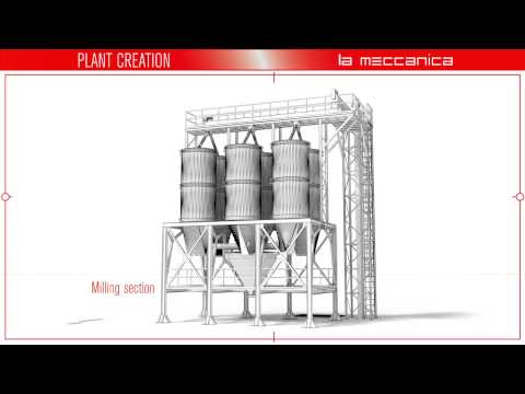 La Meccanica - Animal feed mill construction