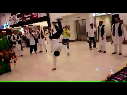 Independence Day 14tH AUG celebrations in AbuDhabi airport