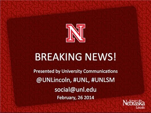 UNL Monthly Content Convergence: Breaking News! panel