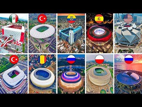 ДУНЁНИНГ ЭНГ ЯХШИ ТОП 10 СТАДИОНЛАРИ / TOP 10 STADIUMS IN THE WORLD / QIZIQARLI DUNYO