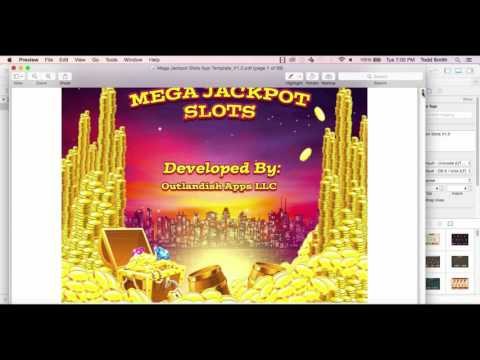 Official Mega Jackpot Slots App Template Walkthrough V1.0 / Outlandish Apps LLC