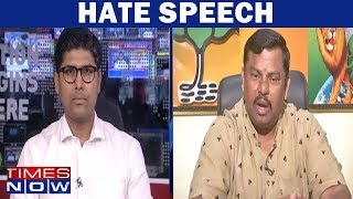BJP MLA Raja Singh Speaks To Times Now Over His Hate Speech | Exclusive