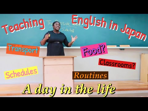 Teaching English in Japan| A DAY IN THE LIFE 2020 (Rural Japan)