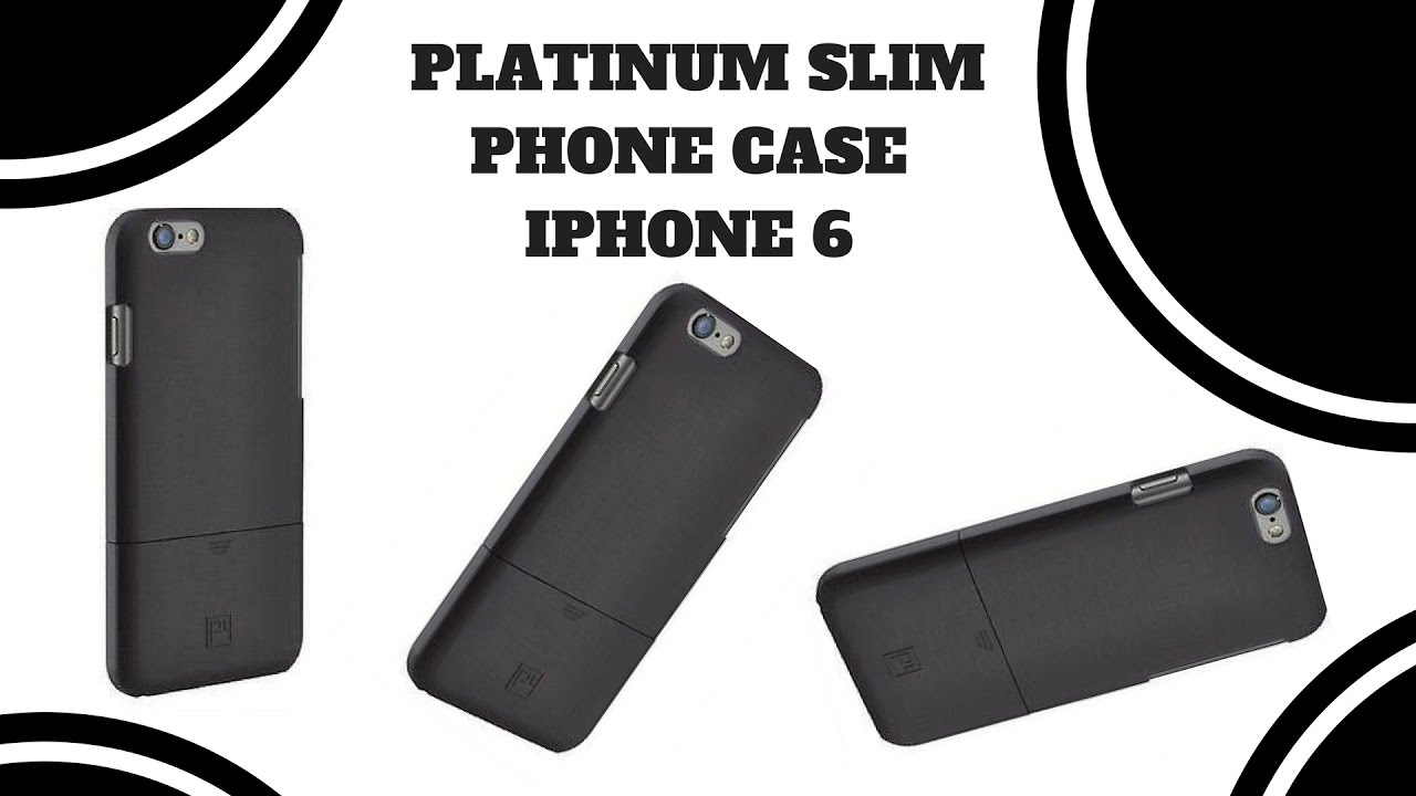 best website 29f5f 845f6 Platinum Slim Case with Holster for iphone 6 plus Unboxing