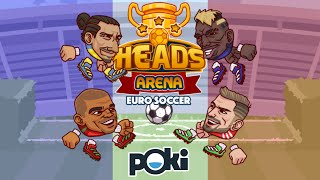 Heads Arena: Euro Soccer Portugal vs Spain