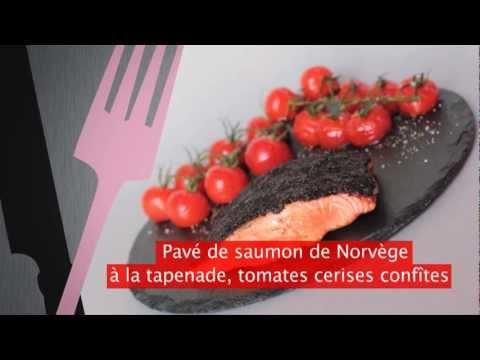 recette-de-cuisine---saumon-en-tapenade,-tomates-confites-sancerre-pierre-chanau