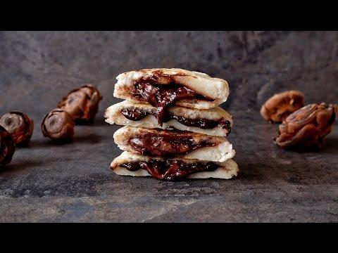 Arepas rellenas de chocolate | RECETA FÁCIL Y RÁPIDA Delicious Martha