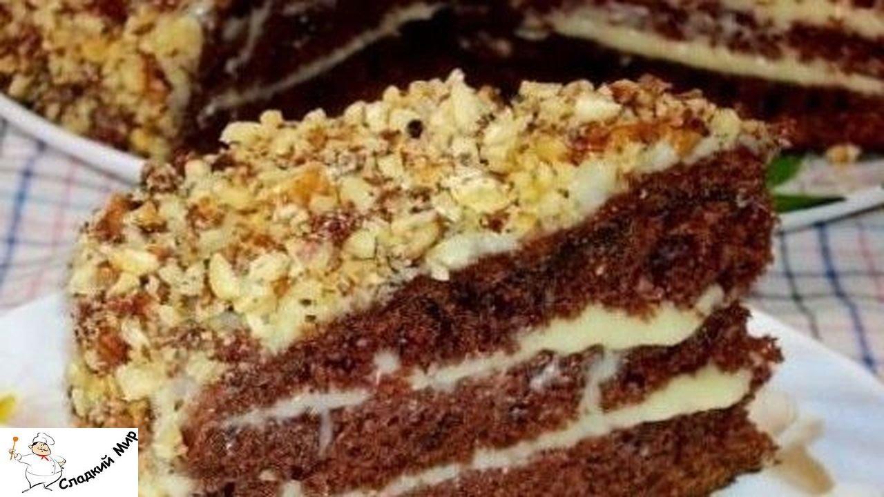 торт на кефире фантастика с фото