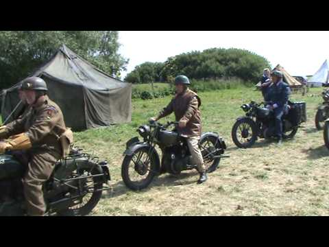 Motorcycles In Normandy 65th D Day Anniversary