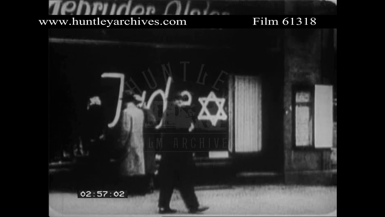 Download Nazis Beat Up a Jew in 1930's Germany.  Archive film 61318