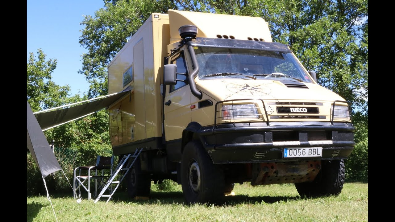 iveco daily camper 4x4 youtube. Black Bedroom Furniture Sets. Home Design Ideas