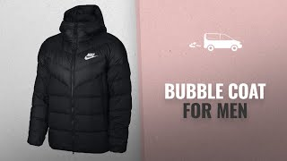 Top Brands Bubble Coat For Men [2018]: NIKE Sportswear Windrunner Down Fill Men