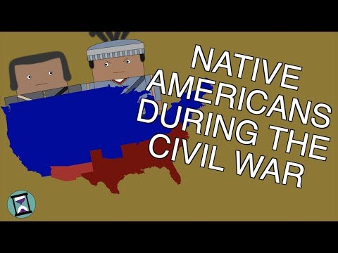 What Did Native Americans Do During The Civil War? (Short Animated Documentary)