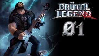 Lets Play Brütal Legend - This is Heavy Metal - German Deutsch Gameplay Part 01