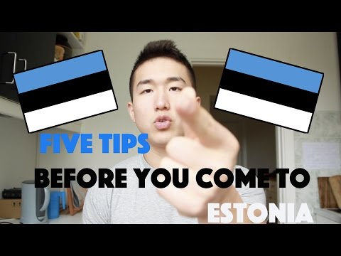 MOVING TO ESTONIA! 5 TIPS FOR YOU!!!