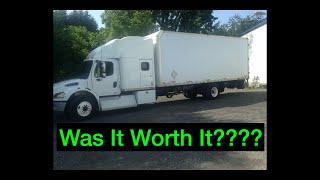 Box Truck to RV!! Was it worth it??