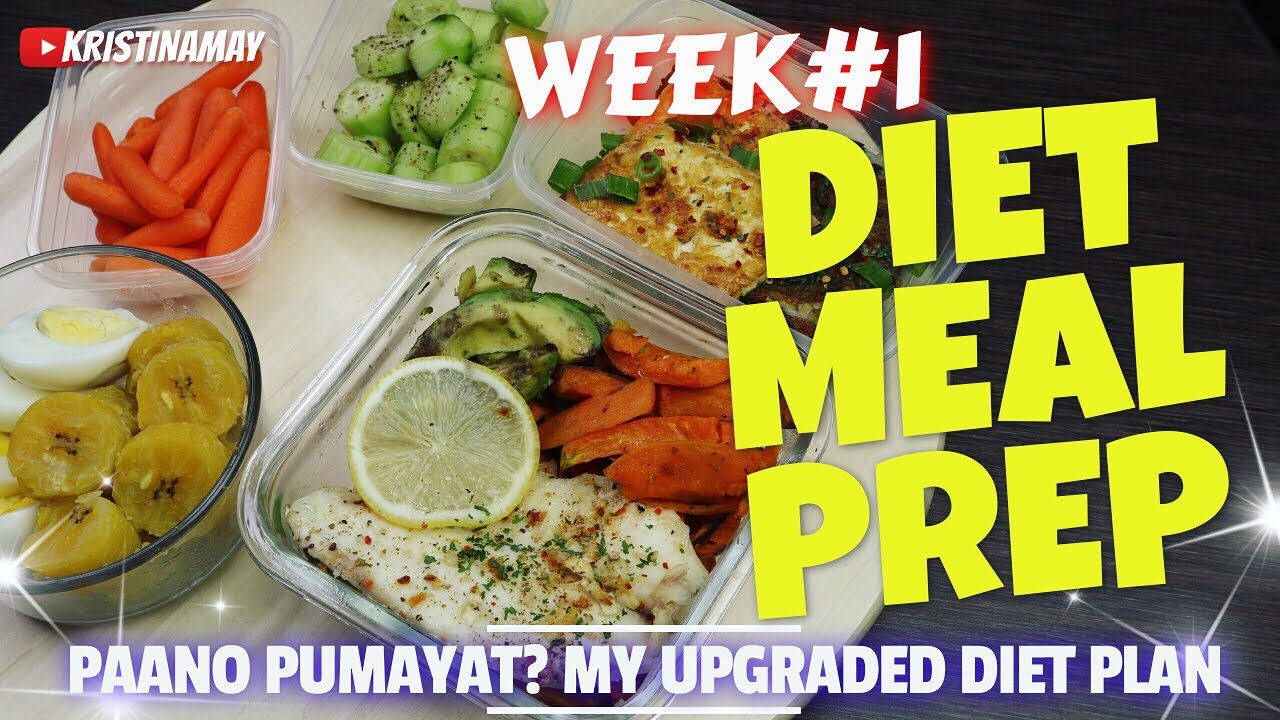 Paano Pumayat Easy Meal Prep For Weight Loss Week 1 Philippines Youtube