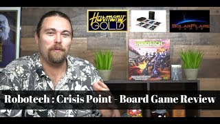 Robotech : Crisis Point - Board Game Review