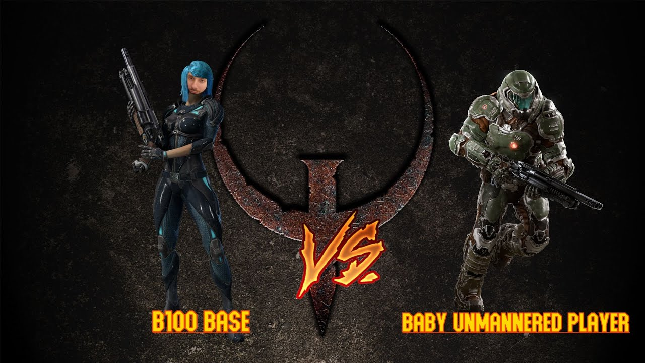Download b100.Base vs Baby Unmannered Player   bo3   Quake ROFL League   BaseCast