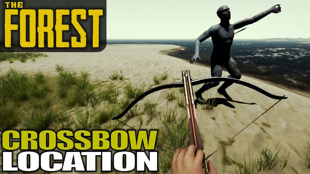 How to get the crossbow in forest