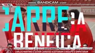 Quizz Benfica com Xavier Cardoso e Carlos Martins, reforços do Hóquei e Andebol, respectivamente