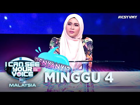 I Can See Your Voice Malaysia ( Musim 3 ) - Minggu 4