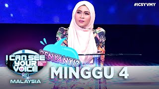 [FULL] I Can See Your Voice Malaysia (Musim 3) Minggu 4 - Siti Nordiana | #ICSYVMY