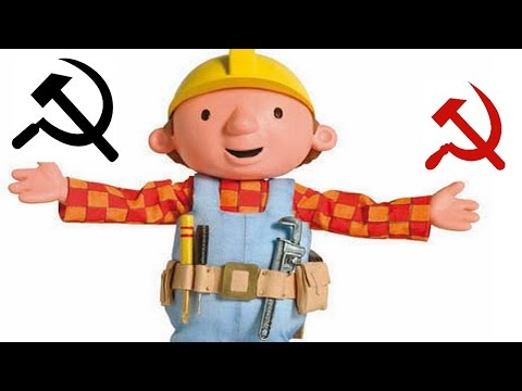 Bob The Builder theme but the word builder is replaced with Soviet Music