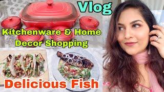 আমার শখের কিছু কেনাকাটা ও মজাদার কিছু মাছের রেসিপি | Bangladeshi Canadian Vlogger | Bangla Vlog