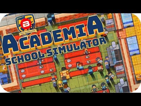 Academia - FREE SCHOOL DINNERS FOR 60+ STUDENTS! - Academia School Simulator Gameplay #2