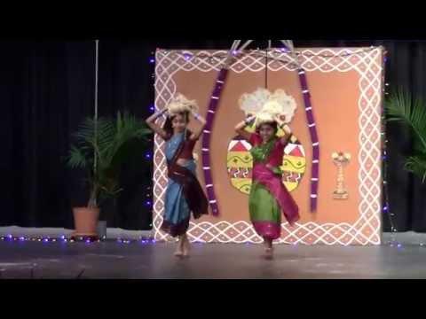 Thith thimi thimi- Folk dance Charlotte Tamil Sangam 2015