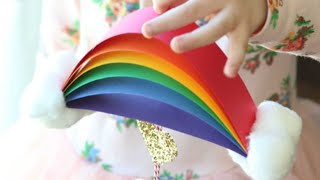 How to Make Paper Rainbow | Easy and Simple Rainbow for Kids | Paper Kids Crafts