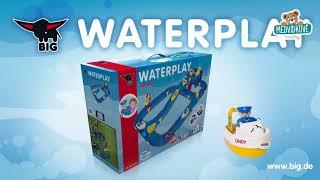 Vodní hra Waterplay Niagara BIG skládací s lodička